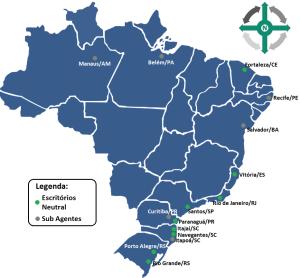 Mapa - Representação Portuária